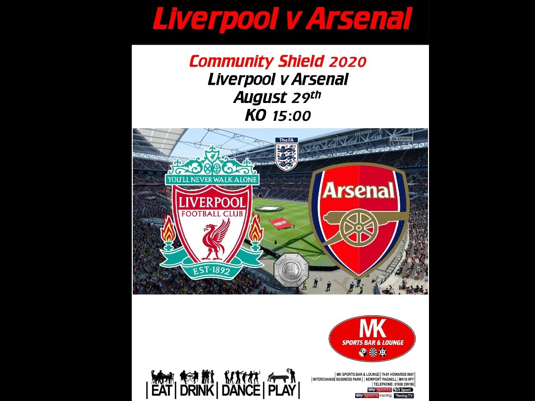 Liverpool v Arsenal - Community Shield