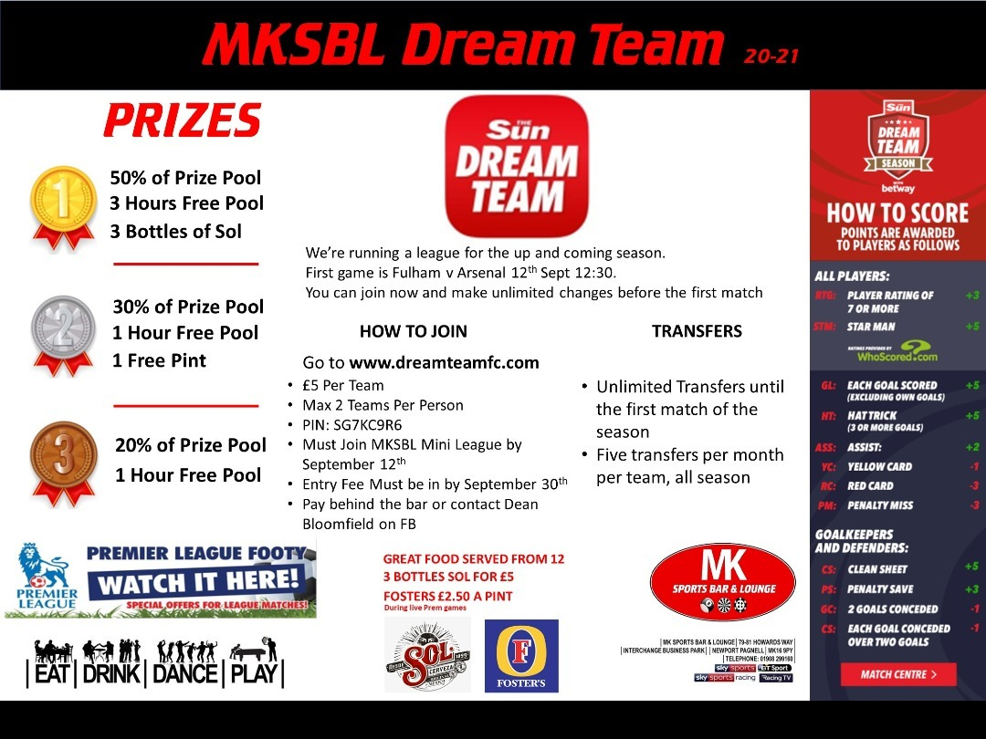 MKSBL Dream Team is Back!