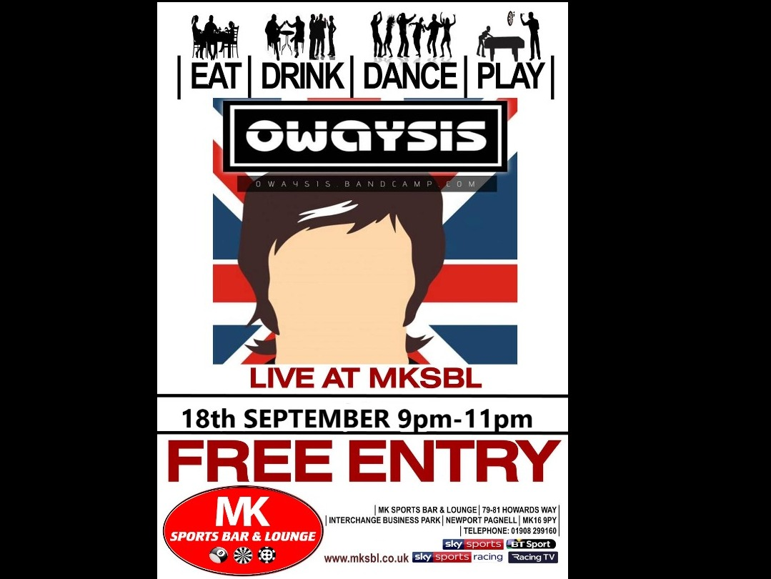 Owaysis 18th September 2021