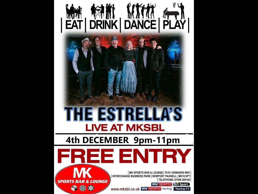 The Estrellas Live - 4th December 2021
