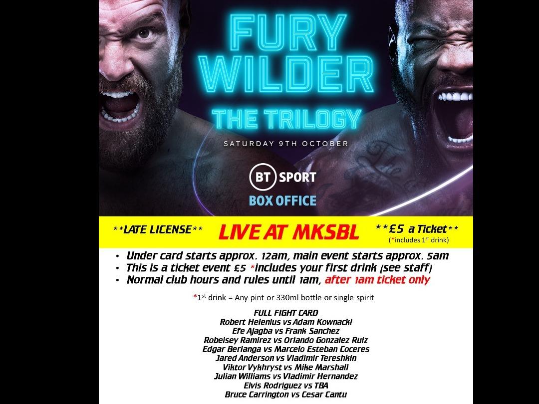 BOXING - Fury v Wilder III