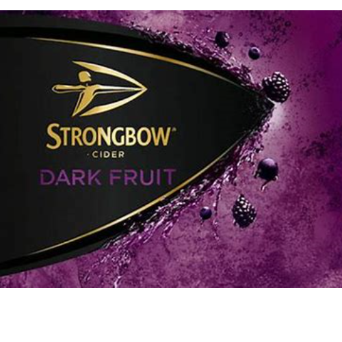 Half Strongbow Dark Fruits