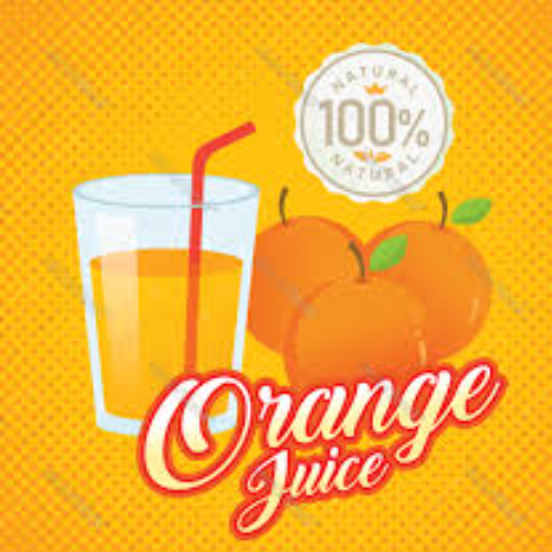 Large Orange Juice
