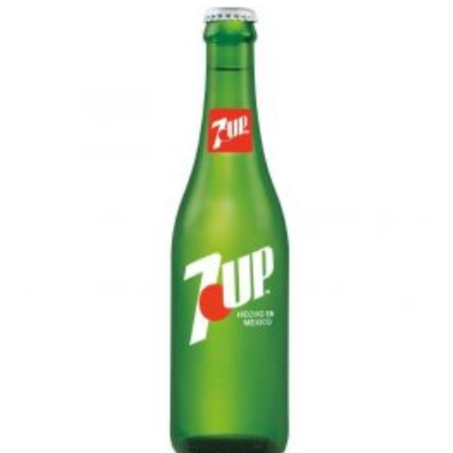 7 Up Bottle