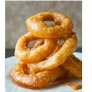 Battered Onion Rings (8)