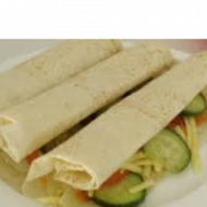 Cheese Salad Wrap